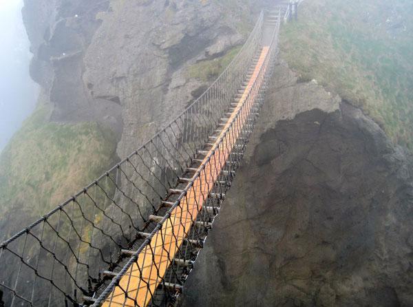 Канатный-мост-Каррик-а-Ред