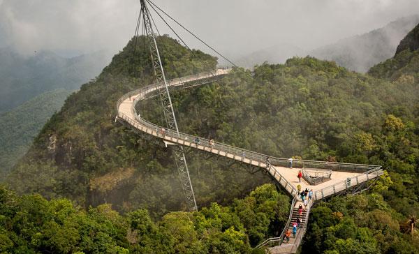 Небесный-мост-Лангкави