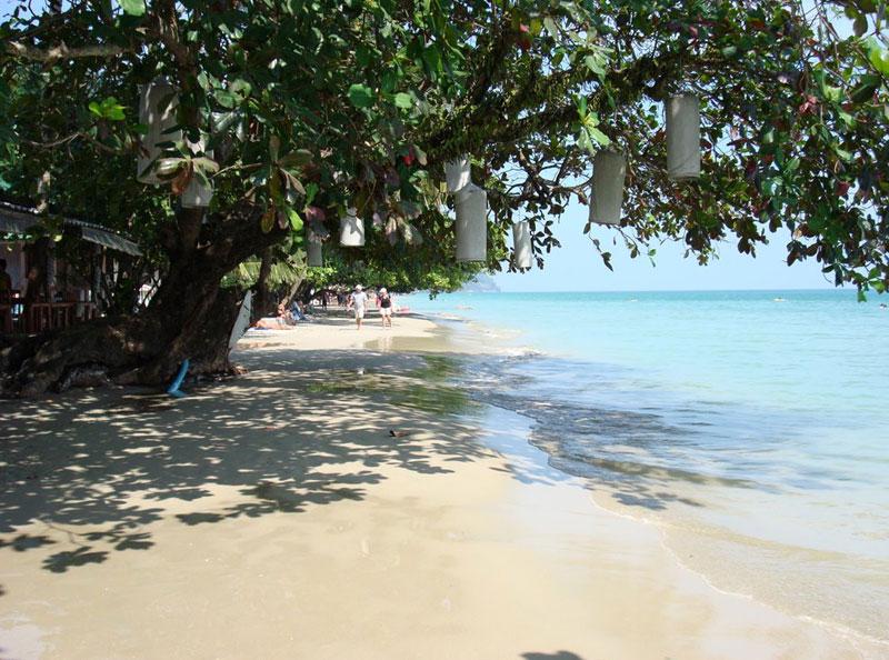 Пляж-Вайт-Сенд-Ко-чанг